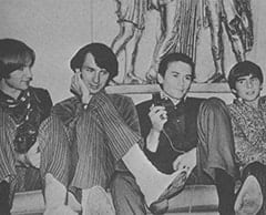 "Peter Tork, Mike Nesmith, KVIL DJ ""Your Leader"", Davy Jones"