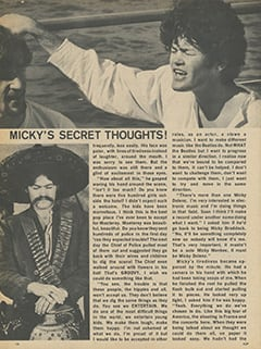 <cite>Flip</cite> (December 1967), Micky's Secret Thoughts, Page 14
