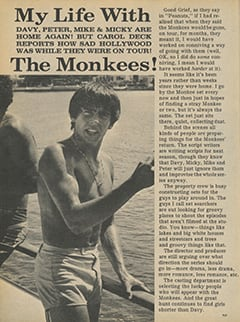 <cite>Flip</cite> (December 1967), My Life with The Monkees, Page 44
