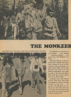 <cite>Monkee Spectacular</cite> (December 1967), The Monkees Go Indian, Page 24