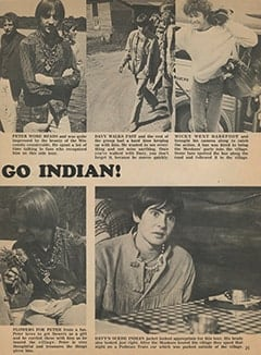 <cite>Monkee Spectacular</cite> (December 1967), The Monkees Go Indian, Page 25
