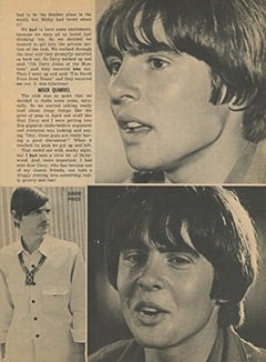 <cite>Monkee Spectacular</cite> (December 1967), My Crazy Night with Davy, Page 29