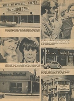 <cite>Monkee Spectacular</cite> (December 1967), Monkees' Private Places, Page 31
