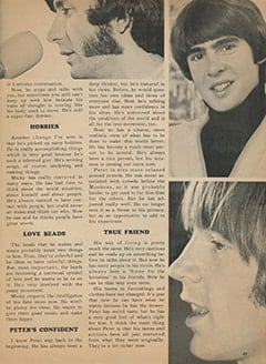 <cite>Monkee Spectacular</cite> (December 1967), Have The Monkees Really Changed?, Page 49