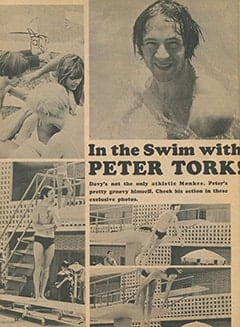 <cite>Monkee Spectacular</cite> (December 1967), In the Swim with Peter Tork, Page 54