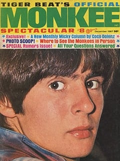 <cite>Monkee Spectacular</cite> (December 1967) cover