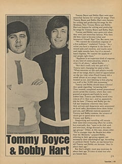 <cite>TeenSet</cite> (December 1967), Tommy Boyce & Bobby Hart, Page 45
