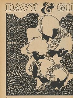 <cite>Tiger Beat Presents Davy Jones</cite> (December 1967), Davy & Girls, Page 14