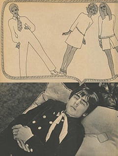 <cite>Tiger Beat Presents Davy Jones</cite> (December 1967), Davy & Girls, Page 16
