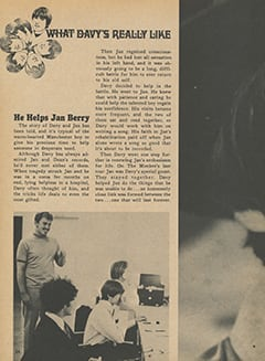 <cite>Tiger Beat Presents Davy Jones</cite> (December 1967), What Davy's Really Like, Page 24