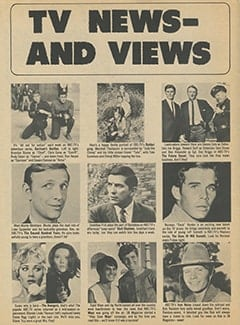 <cite>16 Spec</cite> (Winter 1968), TV News and Views, Page 22