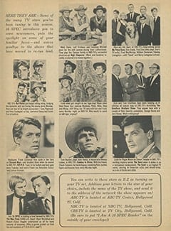 <cite>16 Spec</cite> (Winter 1968), TV News and Views, Page 23