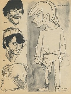 <cite>16 Spec</cite> (Winter 1968), The Monkees—True to Life, Page 63