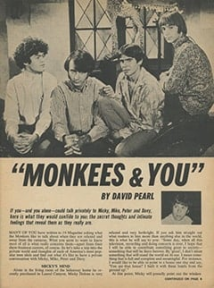 <cite>16</cite> (January 1968), Monkees &amp; You, Page 03