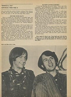 <cite>16</cite> (January 1968), Monkees &amp; You, Page 43