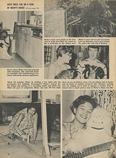 <cite>Fave</cite> (January 1968), Coco Takes You on Tour of Micky's House, Page 12