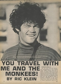 <cite>Flip</cite> (January 1968), You Travel with Me and The Monkees, Page 24