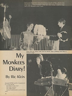 <cite>Flip</cite> (January 1968), You Travel with Me and The Monkees, Page 58