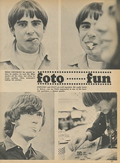 <cite>Monkee Spectacular</cite> (January 1968), Foto Fun, Page 57