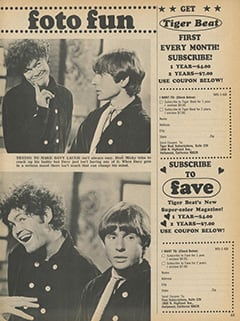 <cite>Monkee Spectacular</cite> (January 1968), Foto Fun, Page 65