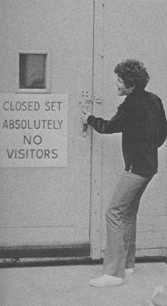Micky Dolenz - Closed set / absolutely no visitors