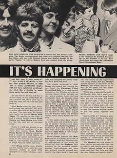 <cite>Tiger Beat</cite> (January 1968), It's Happening in Hollywood, Page 44