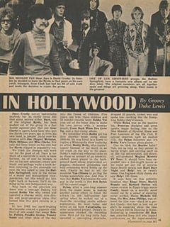 <cite>Tiger Beat</cite> (January 1968), It's Happening in Hollywood, Page 45