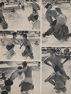 <cite>Tiger Beat</cite> (January 1968), Pool Time with Davy, Page 49