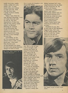 <cite>Flip</cite> (February 1968), My First Impressions of The Monkees, Page 13