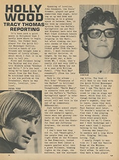 <cite>Flip</cite> (February 1968), Hollywood Tracy Thomas Reporting, Page 16