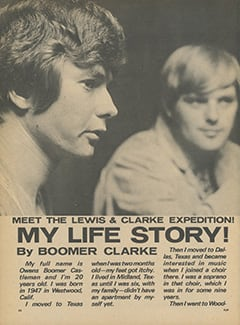 <cite>Flip</cite> (February 1968), My Life Story by Boomer Clarke, Page 32