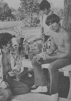 Bill Chadwick, David Pearl, Davy Jones