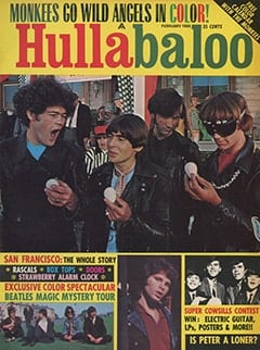 <cite>Hullabaloo</cite> (February 1968) cover