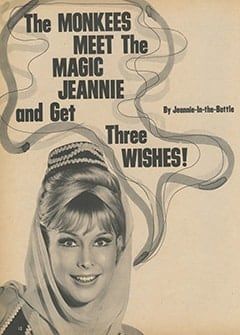 <cite>Monkee Spectacular</cite> (February 1968), The Monkees Meet the Magic Jeannie and Get Three Wishes, Page 12