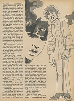 <cite>Monkee Spectacular</cite> (February 1968), The Monkees Meet the Magic Jeannie and Get Three Wishes, Page 13