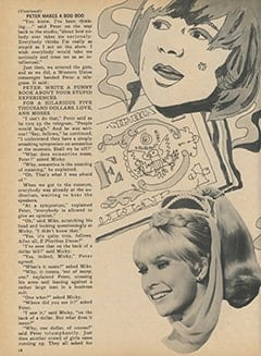 <cite>Monkee Spectacular</cite> (February 1968), The Monkees Meet the Magic Jeannie and Get Three Wishes, Page 14
