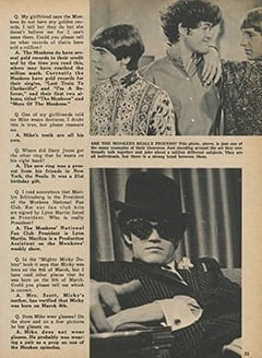 <cite>Monkee Spectacular</cite> (February 1968), Monkee Rumors, Page 23