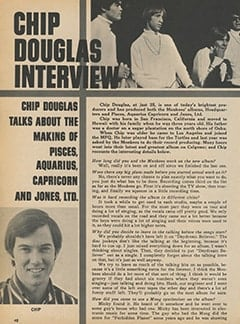 <cite>Monkee Spectacular</cite> (February 1968), Chip Douglas Interview, Page 48