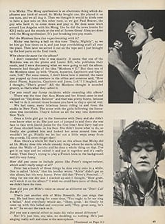 <cite>Monkee Spectacular</cite> (February 1968), Chip Douglas Interview, Page 49