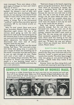 <cite>Monkees Monthly</cite> (February 1968), The Monkees Story (Part 5), Page 12