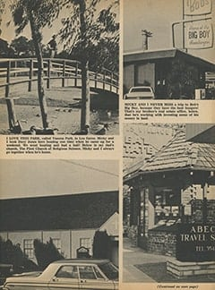 <cite>Tiger Beat</cite> (February 1968), Micky&rsquo;s Hometown Haunts, Page 11