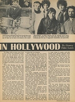 <cite>Tiger Beat</cite> (February 1968), It's Happening in Hollywood, Page 17