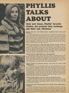<cite>Tiger Beat</cite> (February 1968), Phyllis Talks About, Page 22