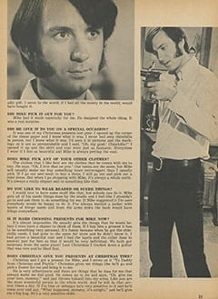 <cite>Tiger Beat</cite> (February 1968), Phyllis Talks About, Page 23