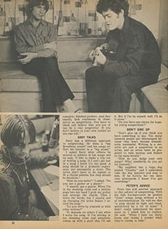 <cite>Tiger Beat</cite> (February 1968), Writing Songs with The Monkees, Page 32