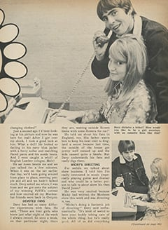 <cite>Fave</cite> (March 1968), My Date with Davy, Page 33
