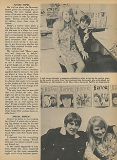 <cite>Fave</cite> (March 1968), My Date with Davy, Page 37