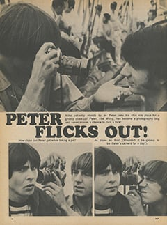 <cite>Flip</cite> (March 1968), Peter Flicks Out, Page 18