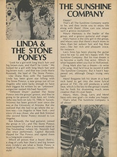 <cite>Flip</cite> (March 1968), Stone Poneys & The Sunshine Company, Page 55