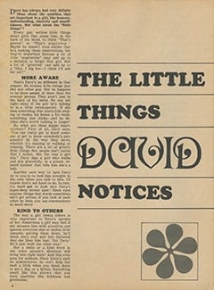 <cite>Monkee Spectacular</cite> (March 1968), The Little Things David Notices, Page 04